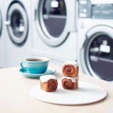 ランドリーマシンをイメージしたオリジナルブレッドが新登場!「CROSSROAD BAKERY × Baluko Laundry Place」