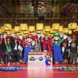 """ニューヨーカーが""""ハテナブロック""""でマリオ体験!USJ『SUPER NINTENDO WORLD』グローバル・イベントが開催"""