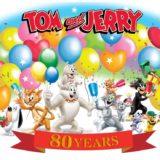 「トムとジェリー」生誕80周年!記念ビジュアルが公開ほか、コラボや記念グッズも続々登場