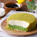 小樽洋菓子舗ルタオから『宇治抹茶ミルクドゥーブル』が登場!抹茶の深みと、たっぷりミルク感でさらにおいしく
