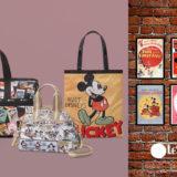 レスポートサック×ミッキーマウスのコレクションが日本限定発売。テーマはアメリカンクラシック