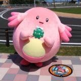 福島県内の9ヵ所にラッキーの『ポケふた』が設置!ポケモンたちがデザインされたポケモンマンホール